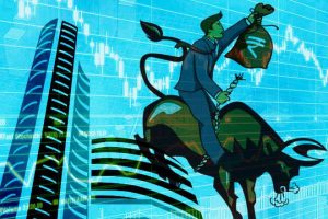 BSE Building Stock Market Bull Nifty and Bank Nifty