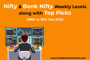 Bank Nifty and Nifty weekly update 06 sep 2021