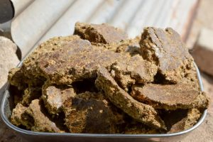 Cottonseed oil cake