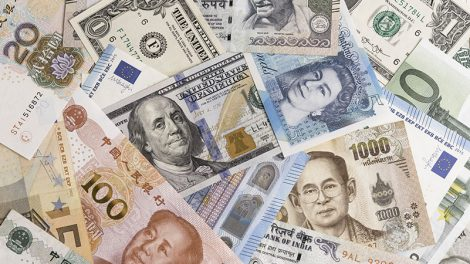 Dollar and major currency notes