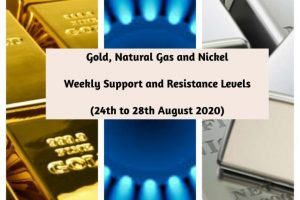 Gold Natural Gas and Nickel weekly levels