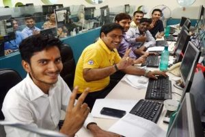 Happy Stock Market Traders