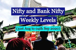 Indian Stock Market Nifty and Bank Nifty weekly levels