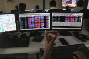 Indian Stock Market Trading Screen