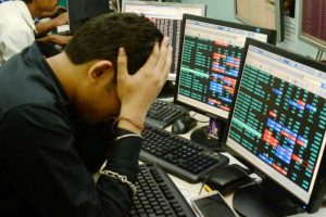 Indian Stock Market down Nifty down
