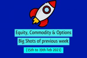 Last week big shot 15 to 19 feb 2021