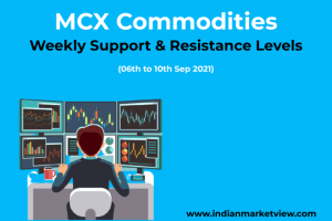 MCX Commodities Support Resistance 06 Sep 2021