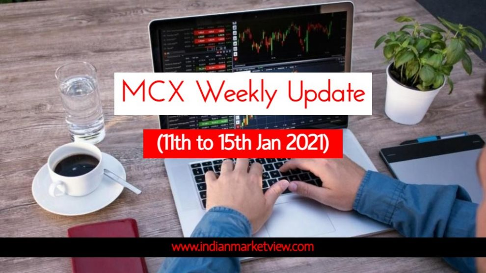 MCX Commodities Weekly Update 11 to 15 Jan 2021