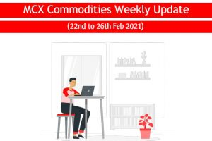 Gold & Other MCX Commodities Weekly Update 22 to 26 Feb 2021