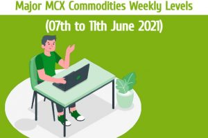 MCX Gold and Other Commodities Weekly Levels 05 June