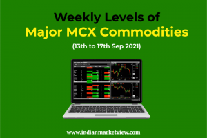 MCX Gold and other commodities Weekly levels 13 to 17 Sep 2021