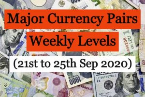 Major Currency Pairs Weekly Update Sep