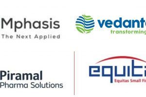 Mphasis, VEDL, PEL and Equitas Holdings