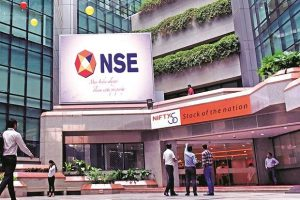 NSE Nifty 50 Logo on Building