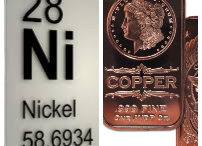 Nickel and Copper