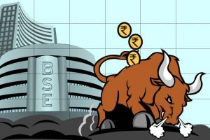Nifty 50 BSE and Stock Market Bull