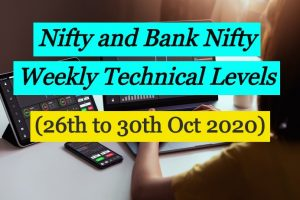 Nifty 50 and Bank Nifty Update 26 to 30 Oct 2020