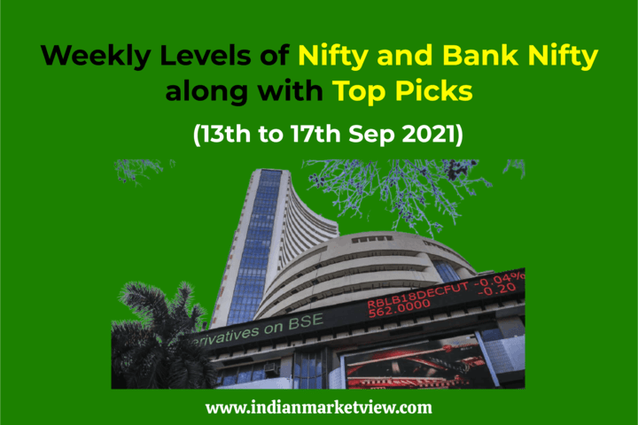 Nifty Bank Nifty Weekly Update 13 to 17 sep 2021