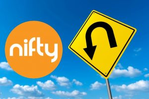 Nifty U turn in the market