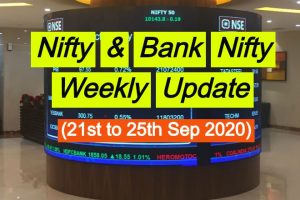 Nifty and Bank Nifty weekly sep update 20th sep