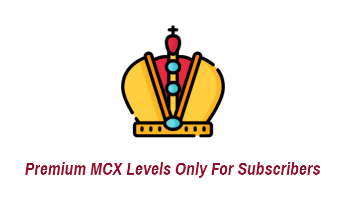 Premium MCX Levels only for subscribers