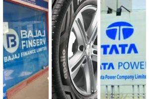 Bajaj Finance Apollo Tyre Tata Power
