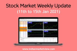 Stock Market Weekly Update 11 to 15 Jan 2021