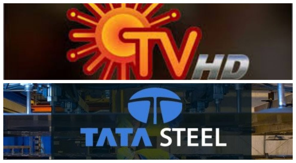Sun TV and Tata Steel