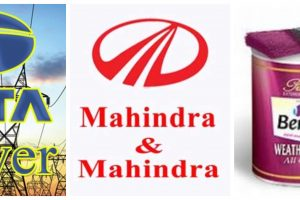 Tata Power, M&M and Berger Paints