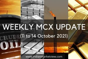 Crude Oil and other mcx commodities weekly update