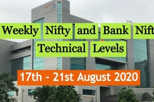 Weekly Nifty Levels and Bank Nifty levels